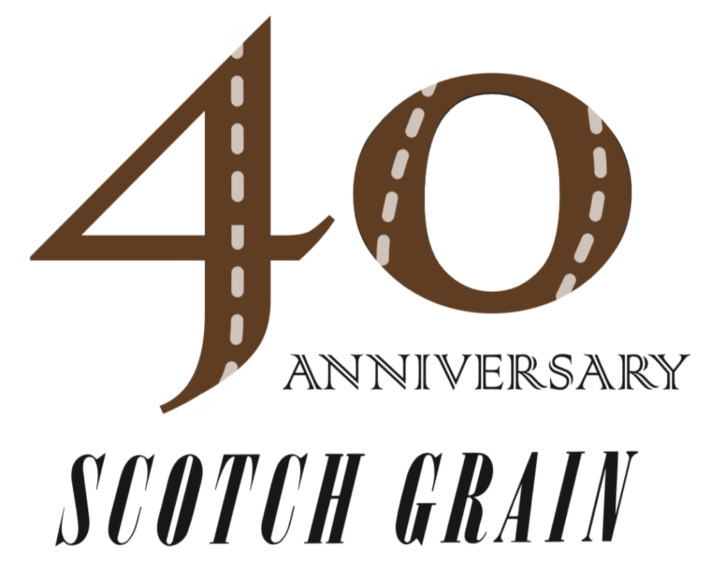 we are 40 years old scotch grain blog スコッチグレインブログ